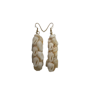 Ni'ihau Earrings - 'Alilea Shell Long
