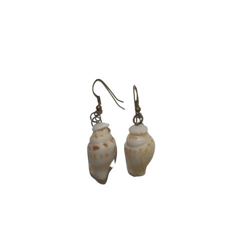 Ni'ihau 'ālīlea Single Shell Earrings