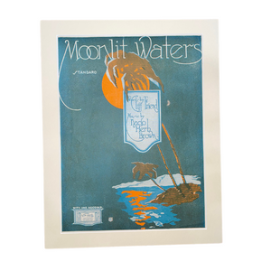 Vintage Art  - Moonlight Waters