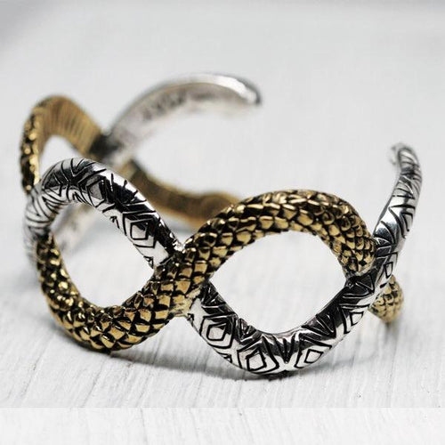 Double Snake Cuff
