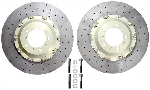 Porsche 991  Turbo/Turbo S (Centre-lock or five stud)  PCCB Replacement (Yellow Calipers)