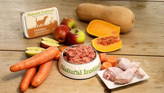 natural instinct raw barf dog food ingredients