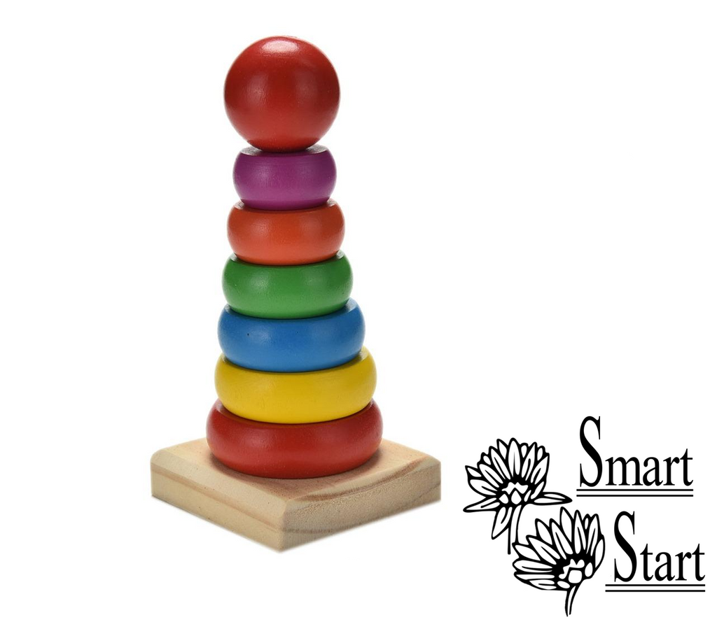 *Free for a limited time: Rainbow Ring Stackers - Just pay shipping!