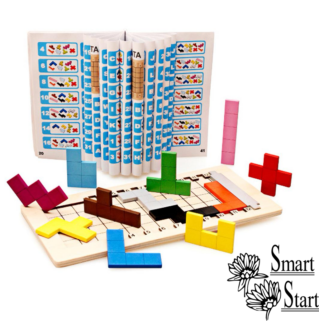 Coloful Puzzles Blocks for Children