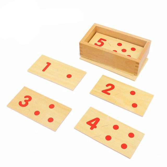 Wooden Math Puzzles for Preschool Education