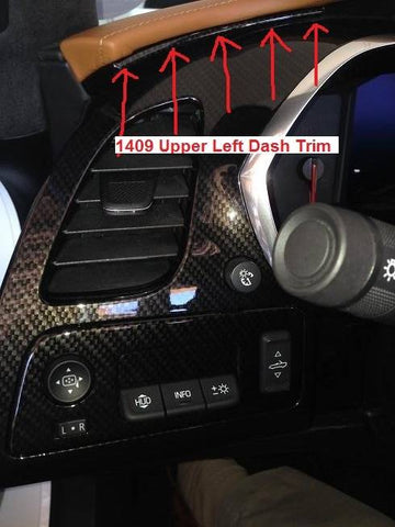 Upper Left Dash Trim