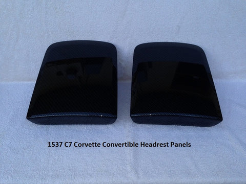 Head Rest Panels