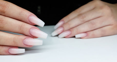 Creating The Perfect French Fade Jamgel Nails