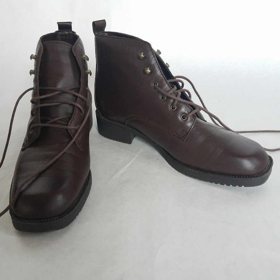 Leather Boot Size 6.5