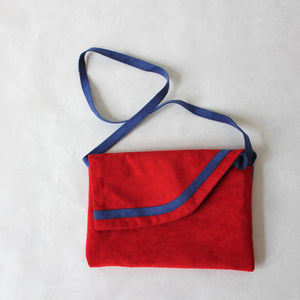 Reversible Suede purse