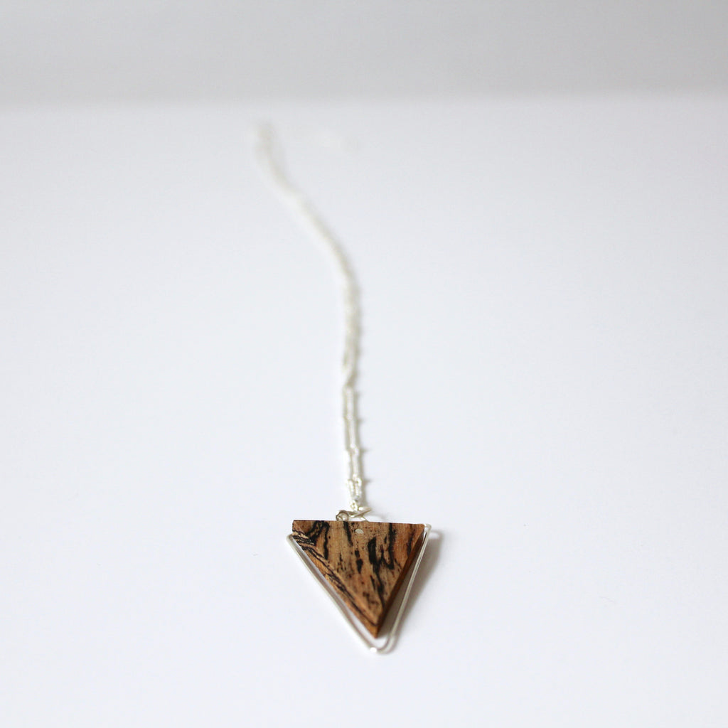 Wood & Wire Necklace