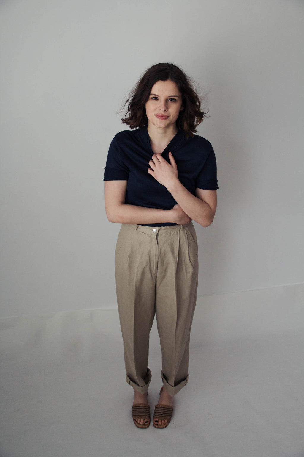 Linen Trousers size 4-6