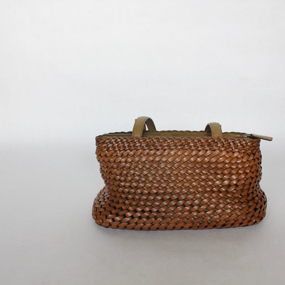 Fossil Vintage Woven Leather