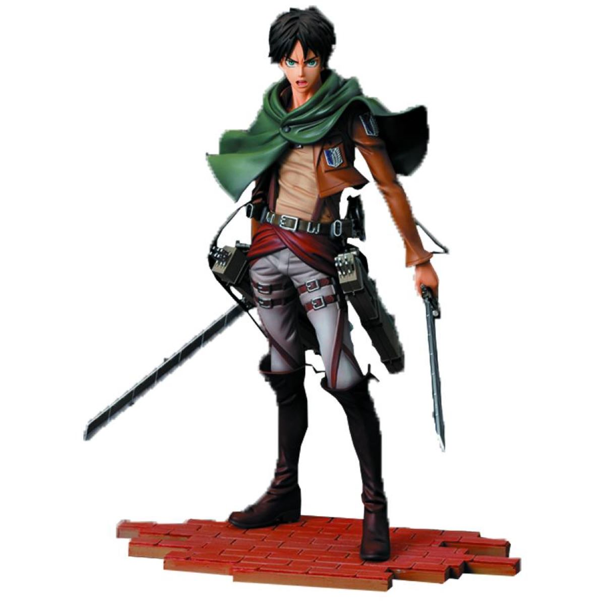 attack on titan eren yeager figure