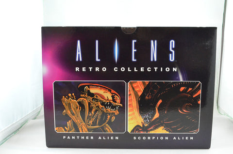 Aliens Retro Panther & Scorpion Statue Set