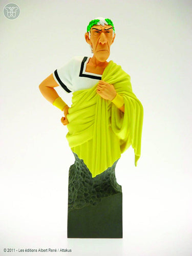 Asterix Caesar Yellow Toga Mini Bust