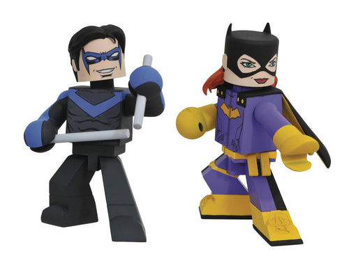 Batgirl and Nightwing Comic Vinimate Figures