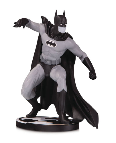 batman black and white colan statue