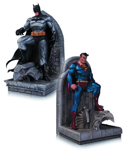 DC Comics Superman & Batman Resin Bookends