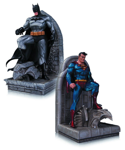 batman superman bookends