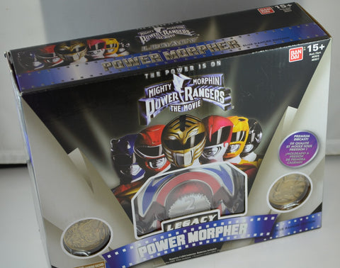Power Rangers Legacy Blue Morpher