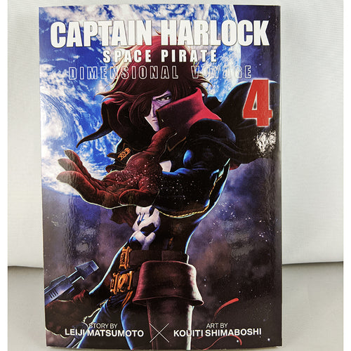 Captain Harlock: Space Pirate - Dimensional Voyage Vol 4