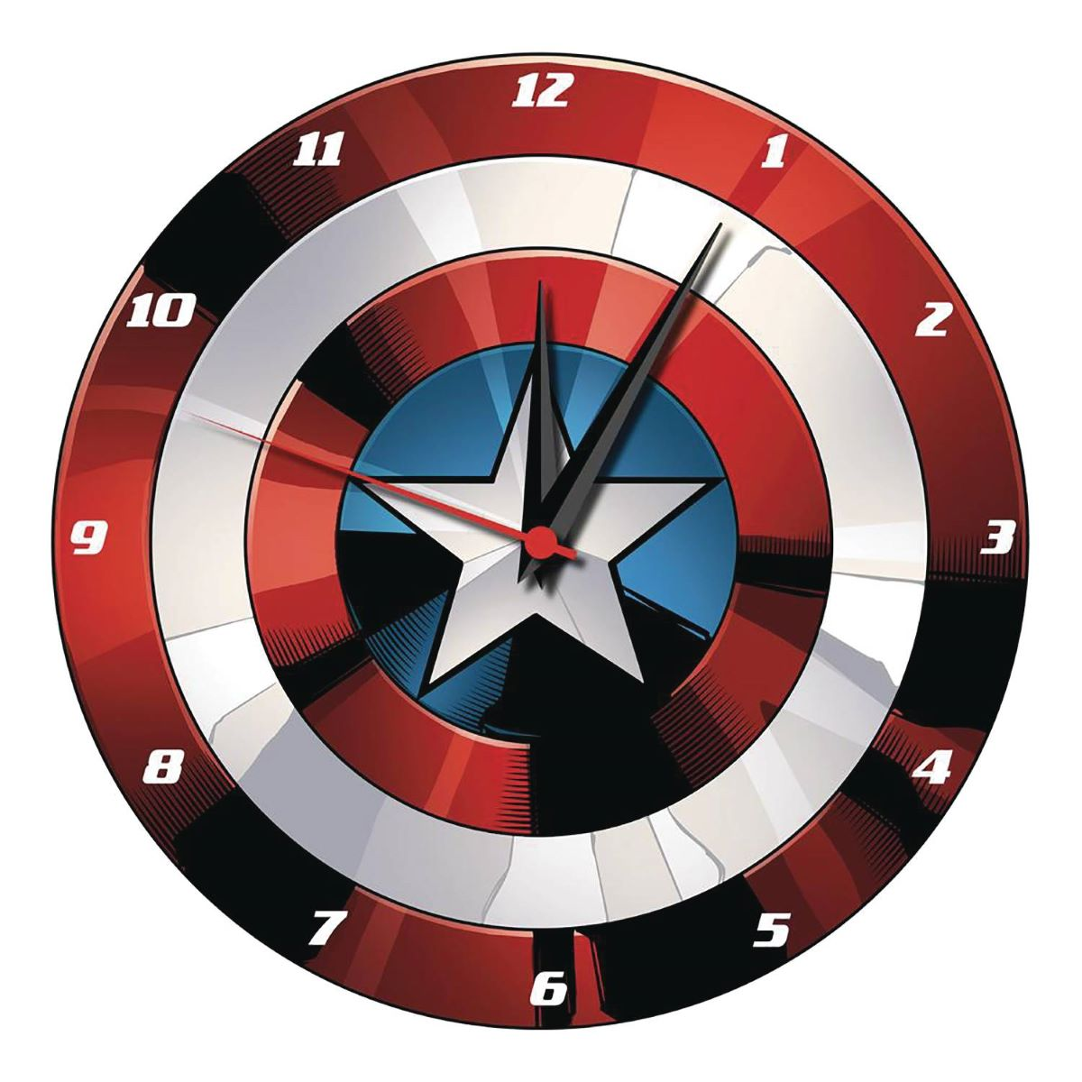 Marvel Captain America Shield Wall Clock
