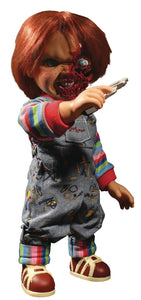 Childs Play 3 Talking Pizza Face Chucky 15-Inch Mega Scale Figure