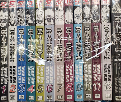 Death Note Manga Volumes 1-13 Set