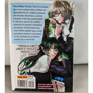Back cover of Devils and Realist Volume 3 Manga By Yuki Amemiya and Yukino Ichihara.