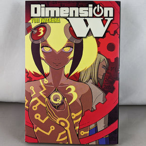 Front cover of Dimension W Volume 3. Manga By Yuji Iwahara