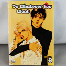 Front cover of Do Whatever You Want Volume 3. Manwha by Yeri Na.