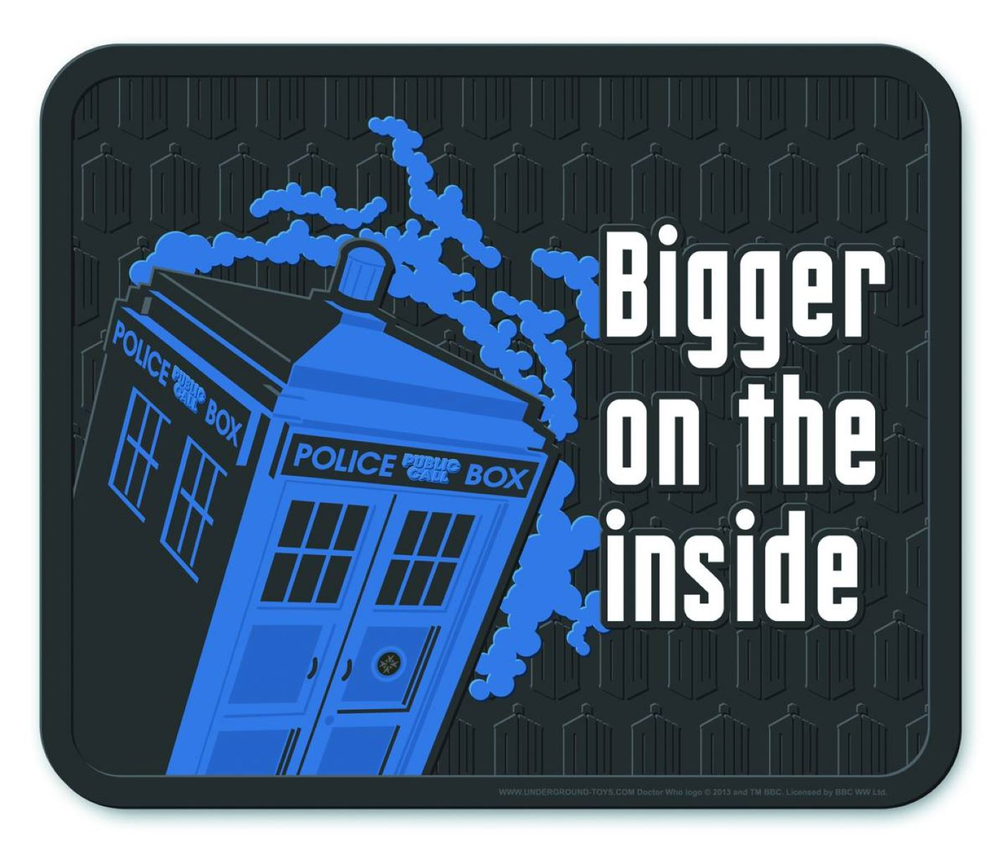 Doctor Who Bigger On The Inside Welcome Mat