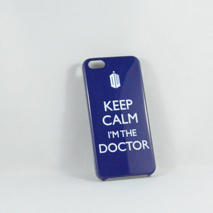 Doctor Who Keep Calm iPhone 5 Case