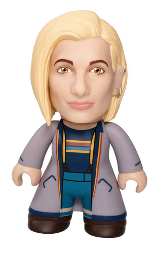 doctor who 13th doctor blue coat figure
