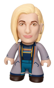 doctor who 13th doctor blue coat pvc figure
