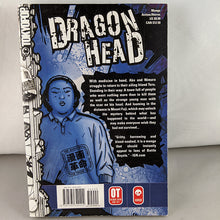Back cover of Dragon Head Volume 7. Manga by minetaro Mochizuki