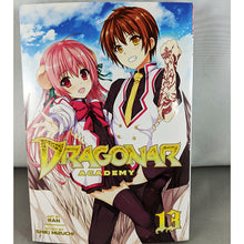 Front cover of Dragonar Academy Volume 13. manga by Ran and Shiki Mizuchi