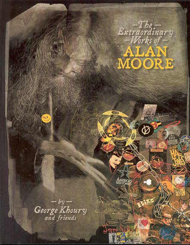 Extraordinary Works Of Alan Moore Soft Cover Book