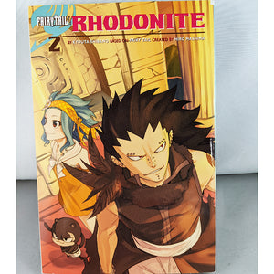 Front cover of Fairy Tail: Rhodonite Volume 2. By Kyouta Shibano and Hiro Mashima
