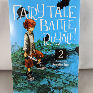 Front cover of Fairy Tale Battle Royale Volume 2. Story and art by Soraho Ina
