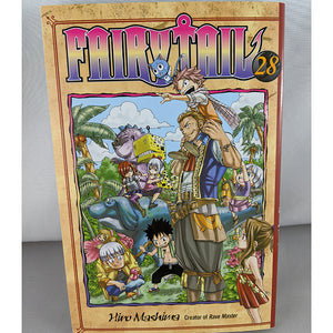 Front cover of Fairy Tail Volume 28. Manga by Hiro Mashima