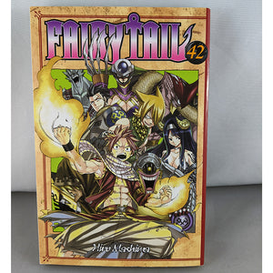 Front cover of Fairy Tail Volume 42. Manga by Hiro Mashima