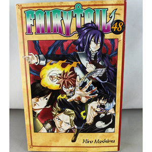 Front cover of Fairy Tail Volume 48. Manga by Hiro Mashima.