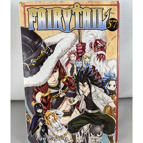 Front cover of Fairy Tail Volume 57. Manga by Hiro Mashima