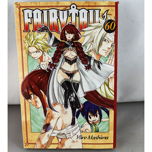 Front cover of Fairy Tail Volume 60. Manga by Hiro Mashima