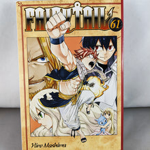 Front cover of Fairy Tail Volume 61. Manga by Hiro Mashima