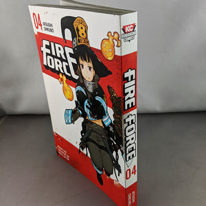 Fire Force Volume 4. From the creator of Soul Eater. By Atsushi Ohkubo.