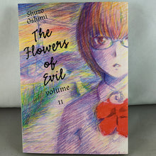 Front cover of The Flowers of Evil Volume 11. Manga by Shuzo Oshimi.