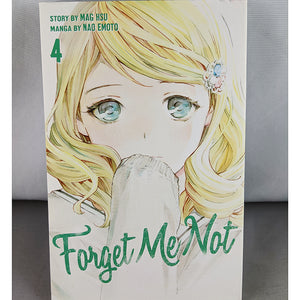 Front cover of Forget Me Not Volume 4. manga by Mag Hsu and Nao Emoto.